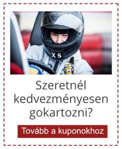 gokart-vac.hu kupon banner